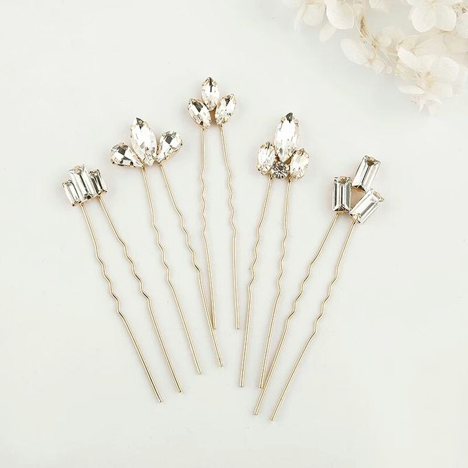Vi Wedding Hair Pin 5pcs/set by Fairytale Undercover - 002