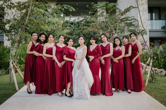 CELINE & PAUL WEDDING by The Apurva Kempinski Bali - 004