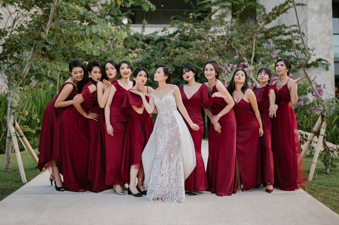 CELINE & PAUL WEDDING by Delapan Bali Event & Wedding - 009