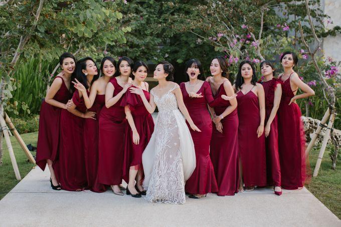 CELINE & PAUL WEDDING by Delapan Bali Event & Wedding - 010