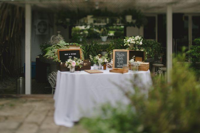 Wedding of Suzy & Fergus by Rosette Designs & Co - 008