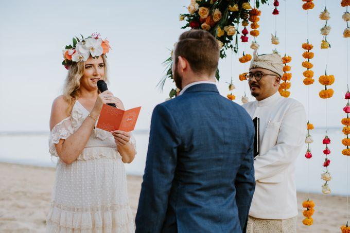 Tropical-themed wedding with Boho inspirations by Amora Bali Weddings - 019