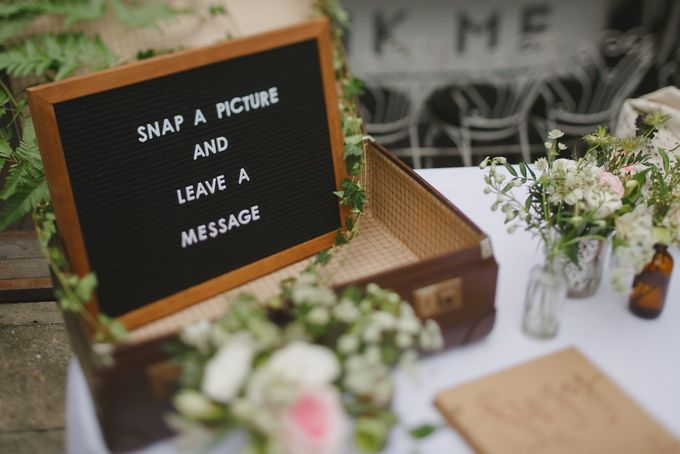 Wedding of Suzy & Fergus by Rosette Designs & Co - 009