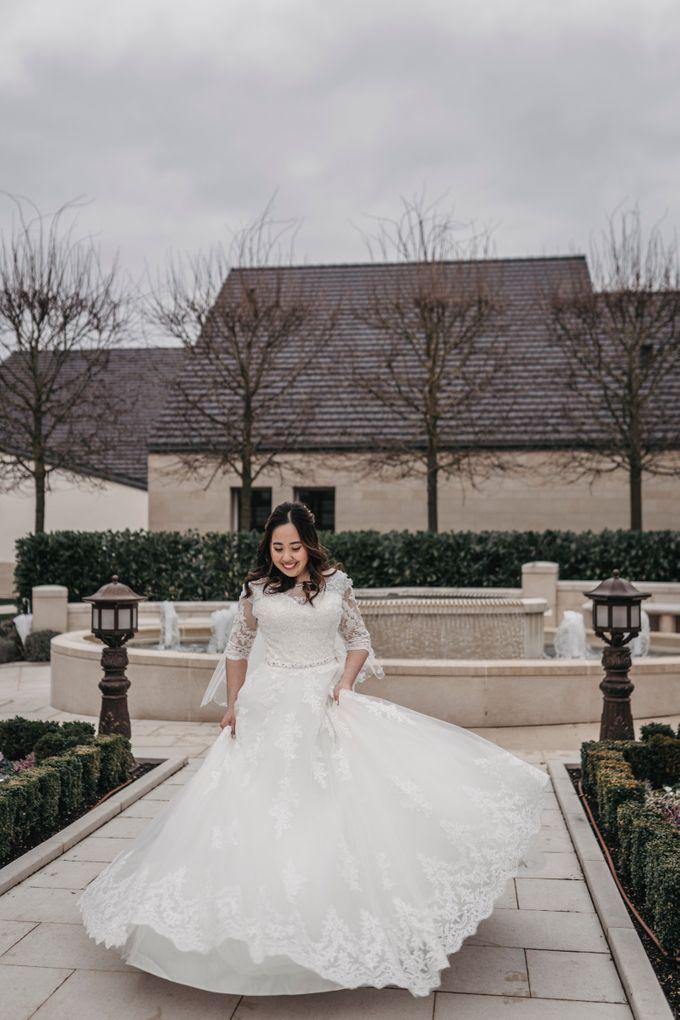Gorgeous Christian Wedding at Paris France Temple by Février Photography   Paris Photographer - 006