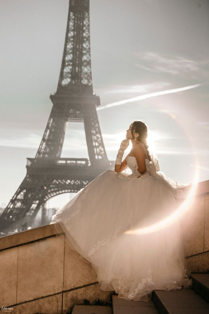 Exclusive Paris Pre Wedding Photo Shoot at Château de Fontainebleau by Février Photography   Paris Photographer - 032