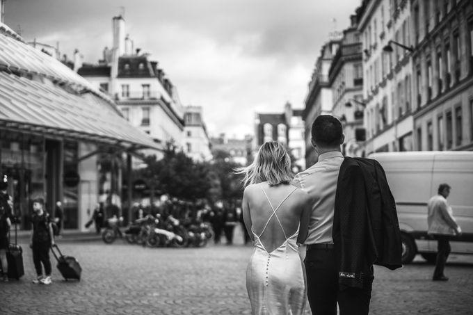 Paris Engagement Photoshoot  -  Fevrier Photography by Février Photography   Paris Photographer - 002