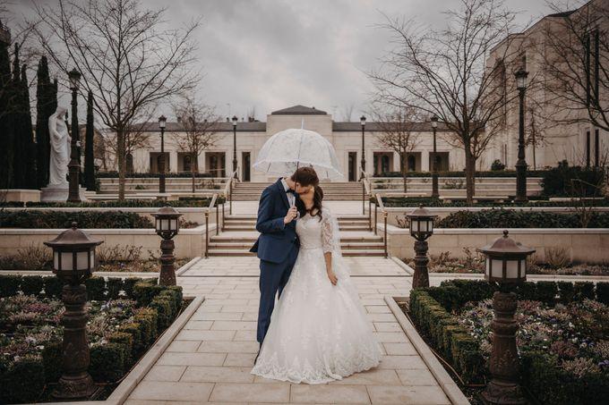 Gorgeous Christian Wedding at Paris France Temple by Février Photography   Paris Photographer - 005