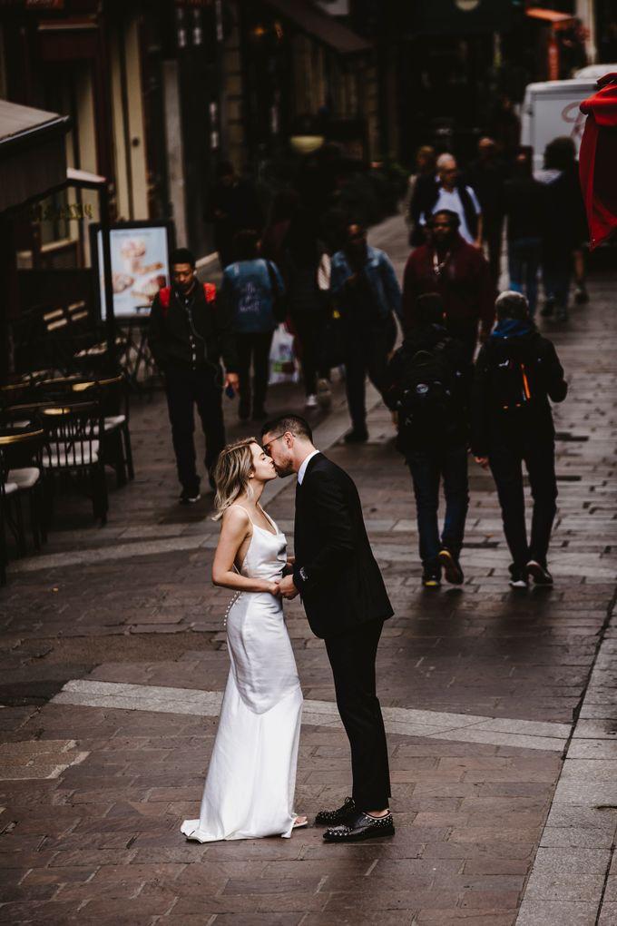 Paris Engagement Photoshoot  -  Fevrier Photography by Février Photography   Paris Photographer - 008