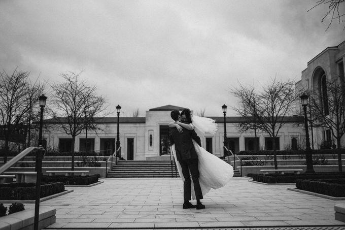 Gorgeous Christian Wedding at Paris France Temple by Février Photography   Paris Photographer - 002