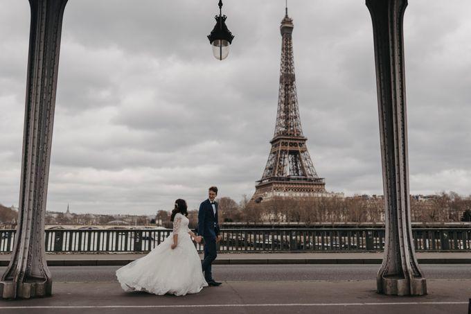 Gorgeous Christian Wedding at Paris France Temple by Février Photography   Paris Photographer - 010
