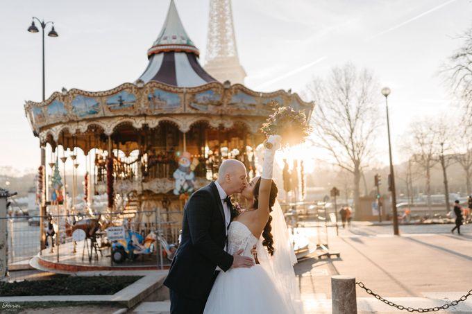 Exclusive Paris Pre Wedding Photo Shoot at Château de Fontainebleau by Février Photography   Paris Photographer - 029