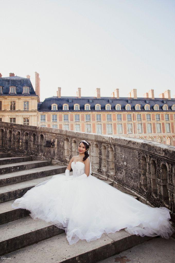 Exclusive Paris Pre Wedding Photo Shoot at Château de Fontainebleau by Février Photography   Paris Photographer - 026