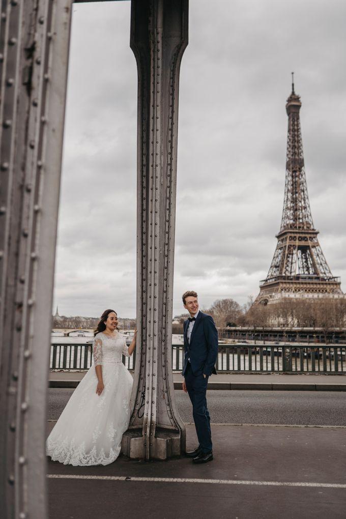 Gorgeous Christian Wedding at Paris France Temple by Février Photography   Paris Photographer - 012