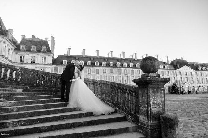 Exclusive Paris Pre Wedding Photo Shoot at Château de Fontainebleau by Février Photography   Paris Photographer - 021