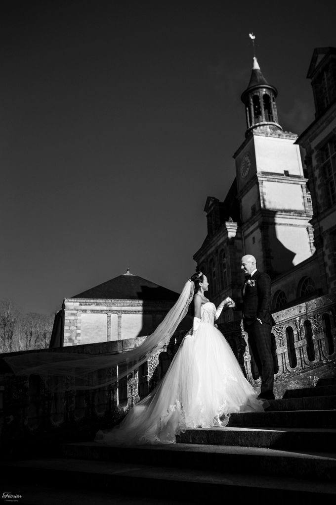 Exclusive Paris Pre Wedding Photo Shoot at Château de Fontainebleau by Février Photography   Paris Photographer - 022