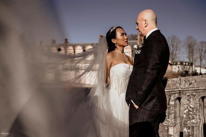 Exclusive Paris Pre Wedding Photo Shoot at Château de Fontainebleau by Février Photography   Paris Photographer - 025