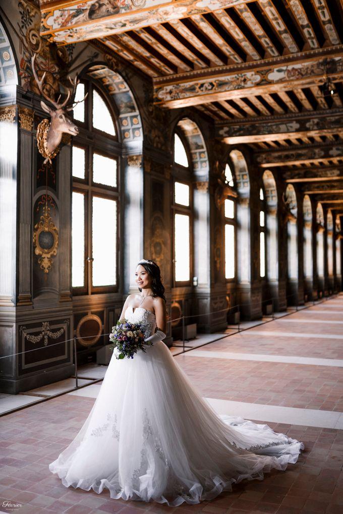 Exclusive Paris Pre Wedding Photo Shoot at Château de Fontainebleau by Février Photography   Paris Photographer - 016