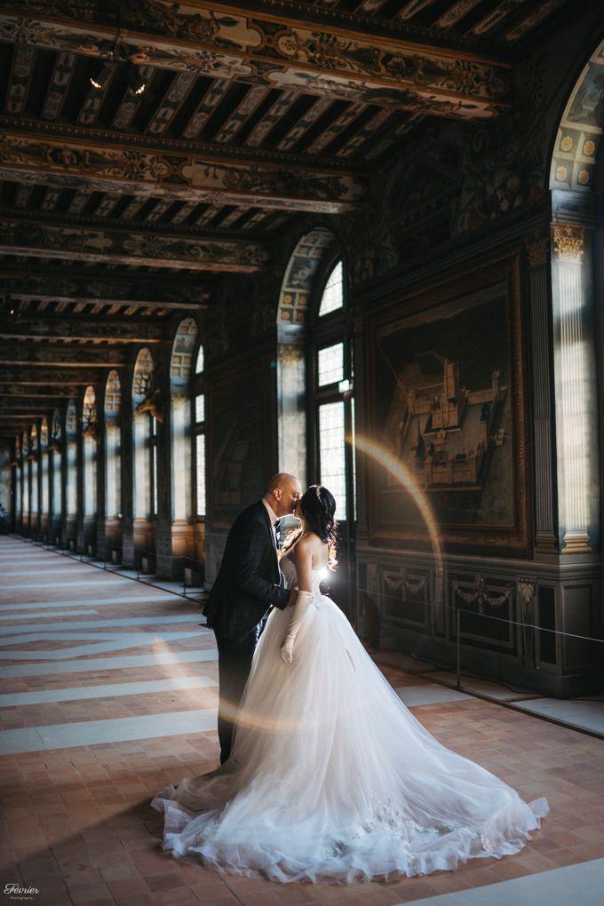 Exclusive Paris Pre Wedding Photo Shoot at Château de Fontainebleau by Février Photography   Paris Photographer - 002