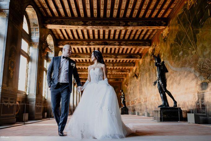 Exclusive Paris Pre Wedding Photo Shoot at Château de Fontainebleau by Février Photography   Paris Photographer - 017