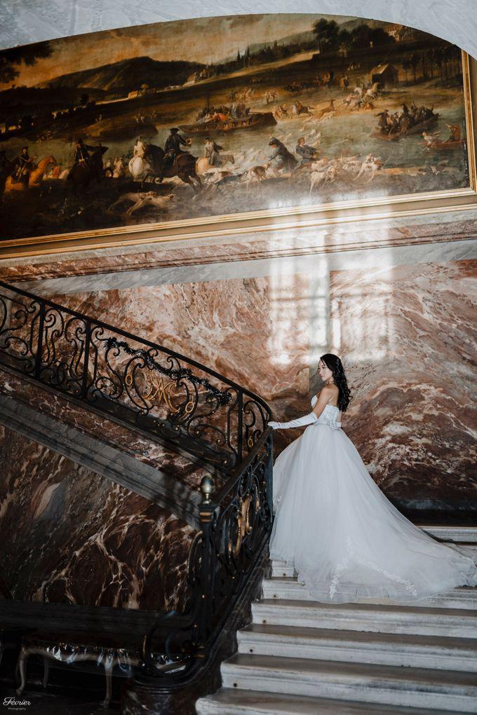 Exclusive Paris Pre Wedding Photo Shoot at Château de Fontainebleau by Février Photography   Paris Photographer - 014