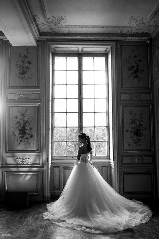 Exclusive Paris Pre Wedding Photo Shoot at Château de Fontainebleau by Février Photography   Paris Photographer - 004