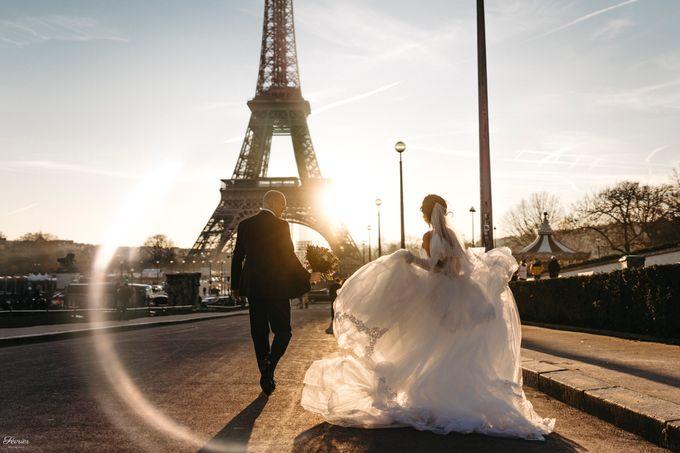 Exclusive Paris Pre Wedding Photo Shoot at Château de Fontainebleau by Février Photography   Paris Photographer - 030