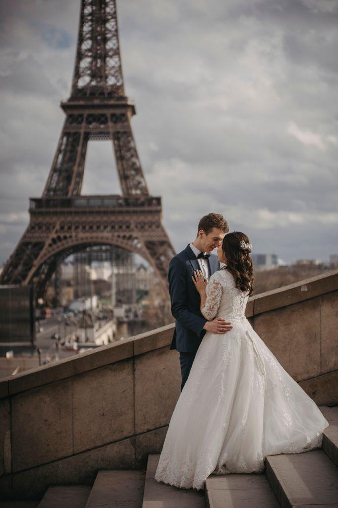 Gorgeous Christian Wedding at Paris France Temple by Février Photography   Paris Photographer - 014