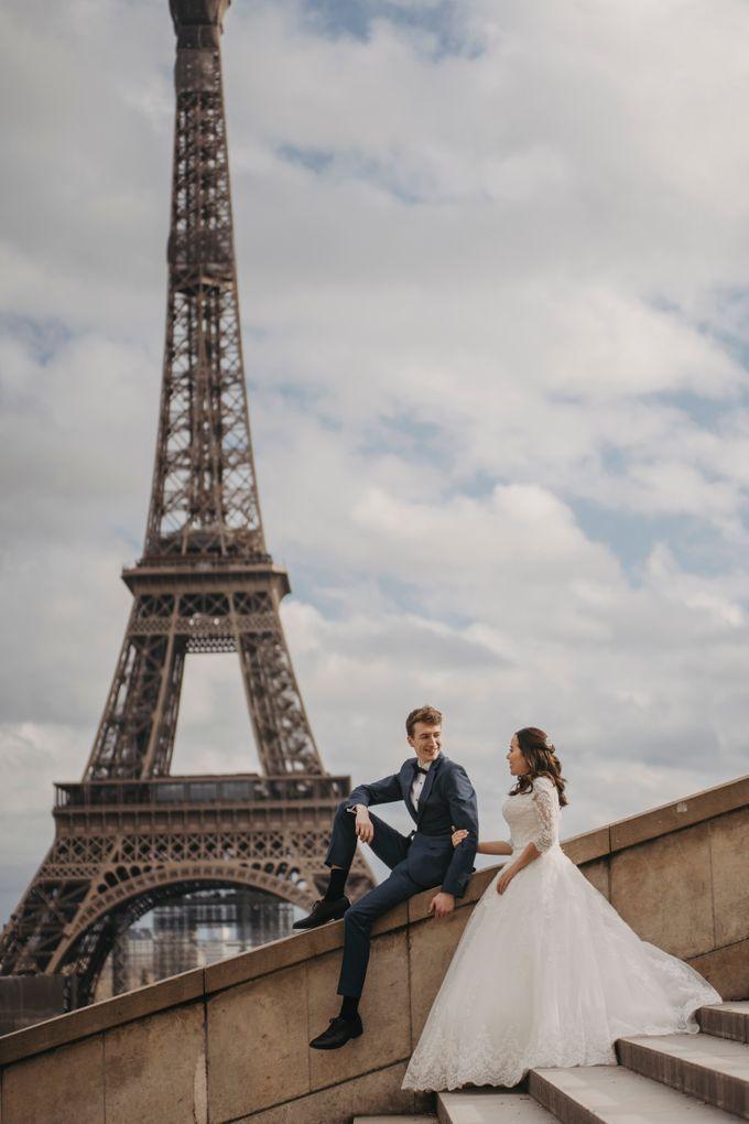 Gorgeous Christian Wedding at Paris France Temple by Février Photography   Paris Photographer - 013