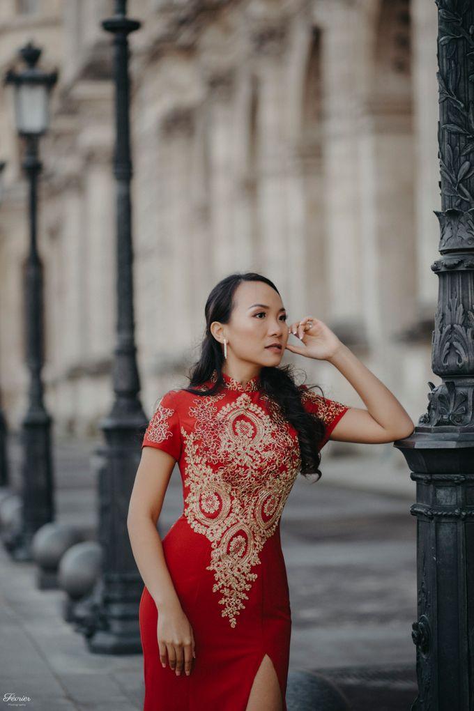 Exclusive Paris Pre Wedding Photo Shoot at Château de Fontainebleau by Février Photography   Paris Photographer - 040