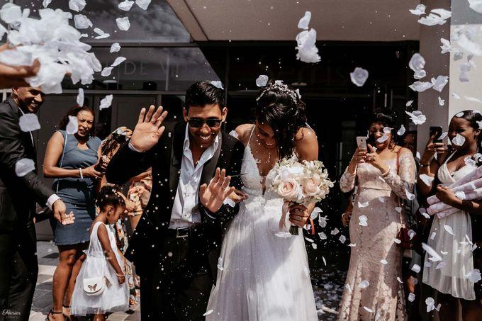 Beautiful Wedding In France - Fevrier Photography by Février Photography | Paris Photographer - 002