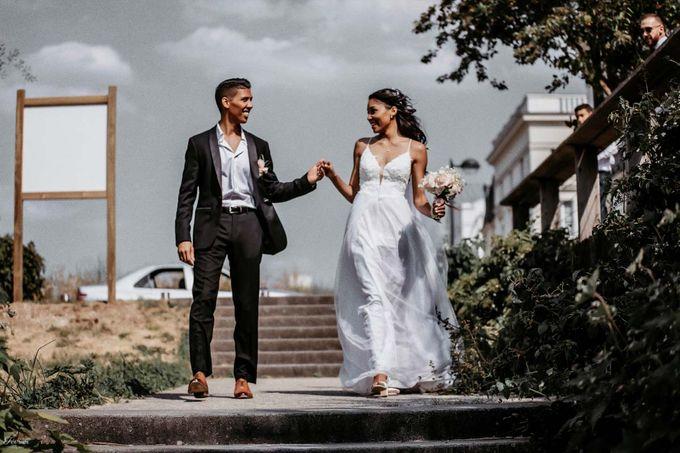 Beautiful Wedding In France - Fevrier Photography by Février Photography | Paris Photographer - 008