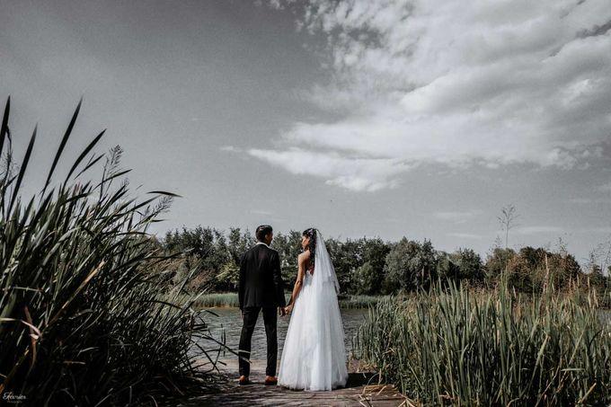 Beautiful Wedding In France - Fevrier Photography by Février Photography | Paris Photographer - 005