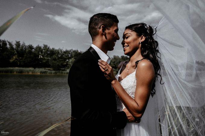 Beautiful Wedding In France - Fevrier Photography by Février Photography | Paris Photographer - 007