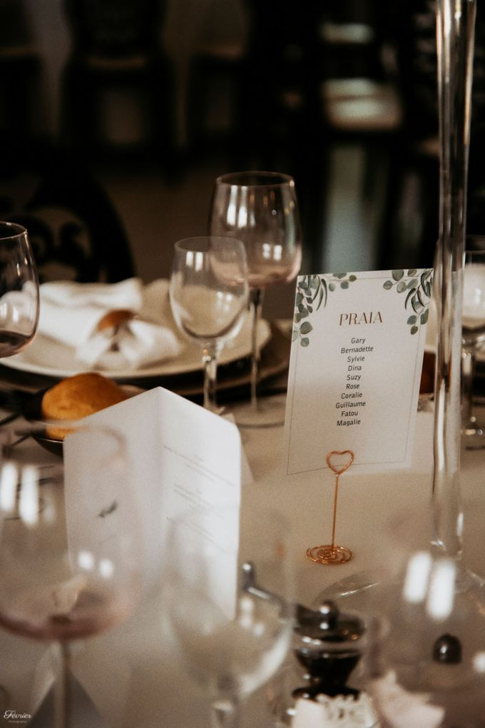 Beautiful Wedding In France - Fevrier Photography by Février Photography | Paris Photographer - 010