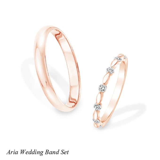 DIAMOND WEDDING BAND SET by Mirage Jeweler - 004