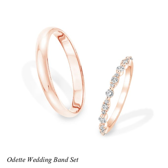 DIAMOND WEDDING BAND SET by Mirage Jeweler - 005