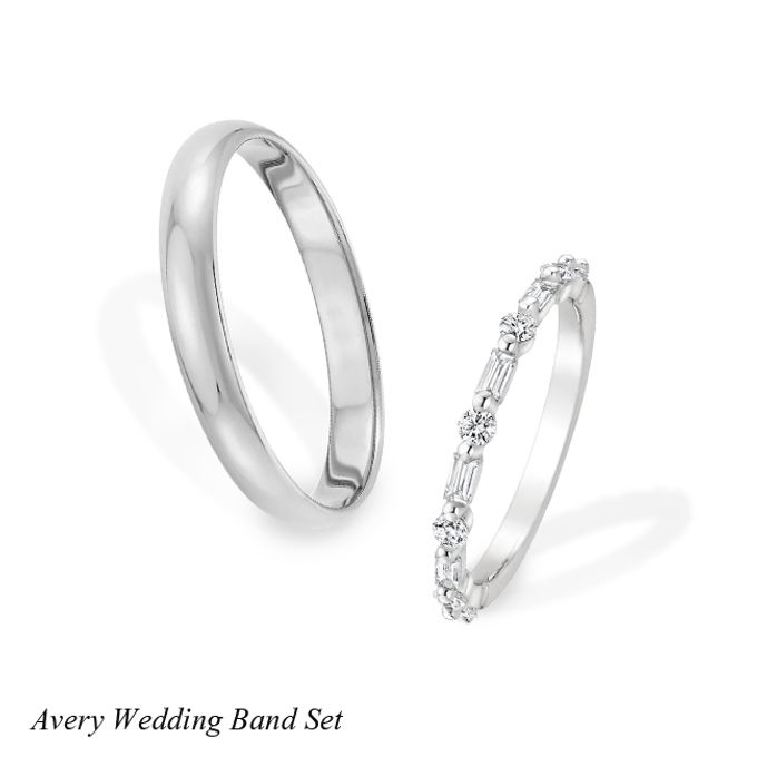 DIAMOND WEDDING BAND SET by Mirage Jeweler - 006