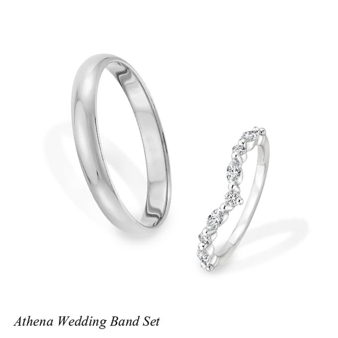 DIAMOND WEDDING BAND SET by Mirage Jeweler - 008