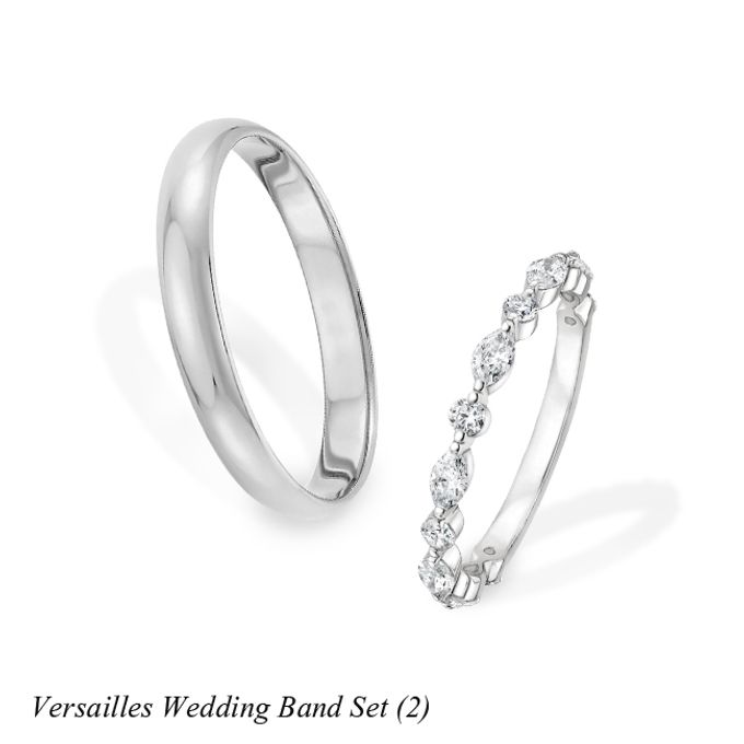 DIAMOND WEDDING BAND SET by Mirage Jeweler - 003