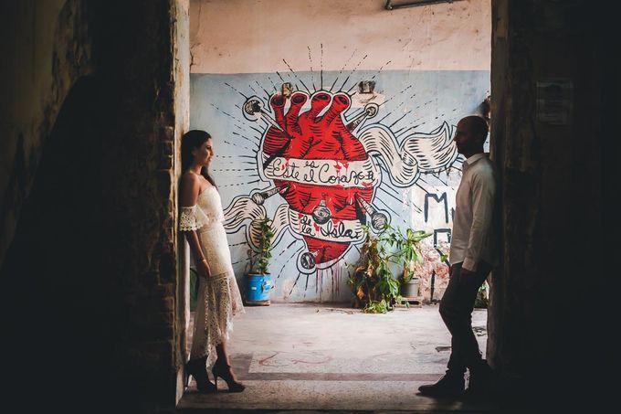 Wedding at Garden with cityview by Producciones Almendares - 014