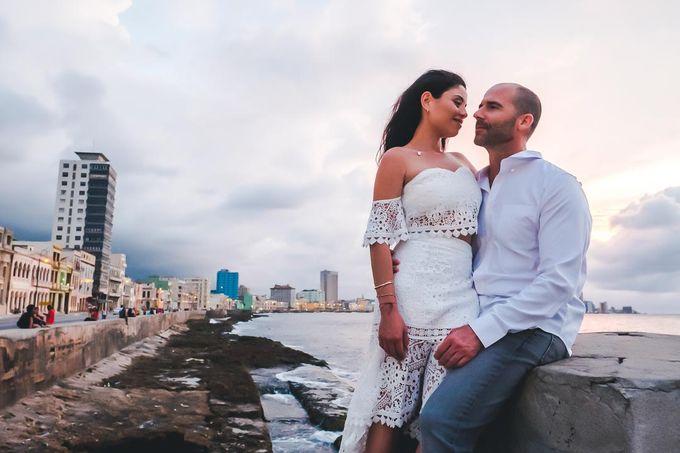 Wedding at Garden with cityview by Producciones Almendares - 006