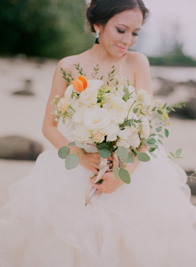 Bride by the Beach by Haute Makeup - 002