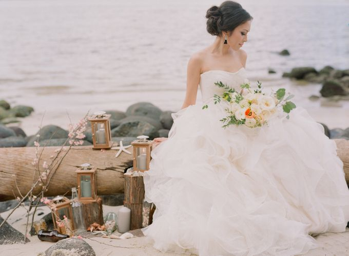Bride by the Beach by Haute Makeup - 004