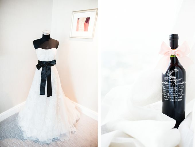 From Pancake To The Moon - Eddy & Lyshe Wedding by Vera Wang Singapore - 001