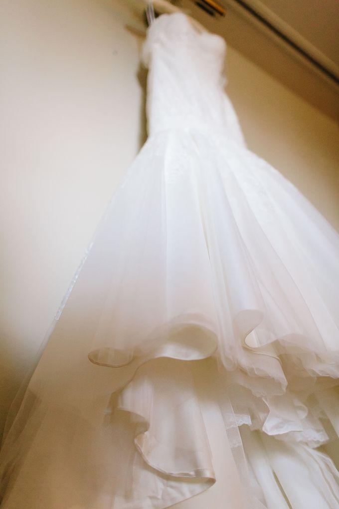 The love story of Bec & Callum - the minimalistic wedding by BWedding Invitations - 002