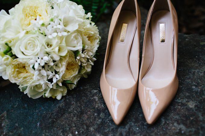 The love story of Bec & Callum - the minimalistic wedding by BWedding Invitations - 003