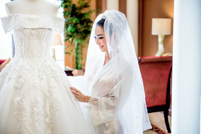 The Wedding of Riyou & Reinita by Imelda Hudiyono Bride - 001