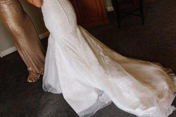 The love story of Bec & Callum - the minimalistic wedding by BWedding Invitations - 004