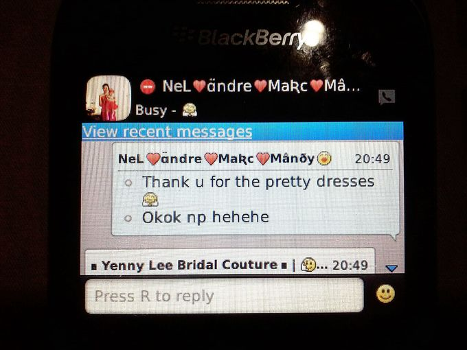 Testimonial by Yenny Lee Bridal Couture - 004