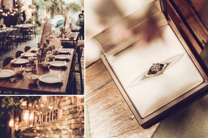 Pineo & Rachel Outdoor Casual Wedding Party at Ubud Bali by GoFotoVideo - 002